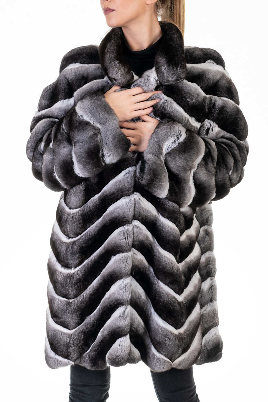 cappotto pelliccia cincilla