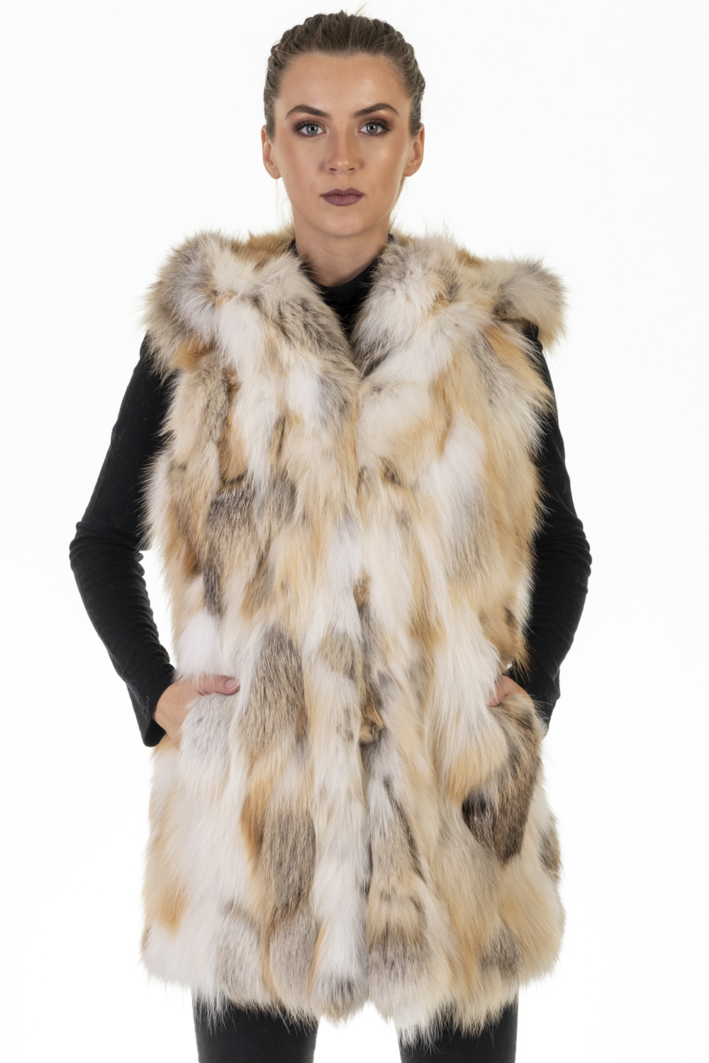 Gilet Volpe Patchwork