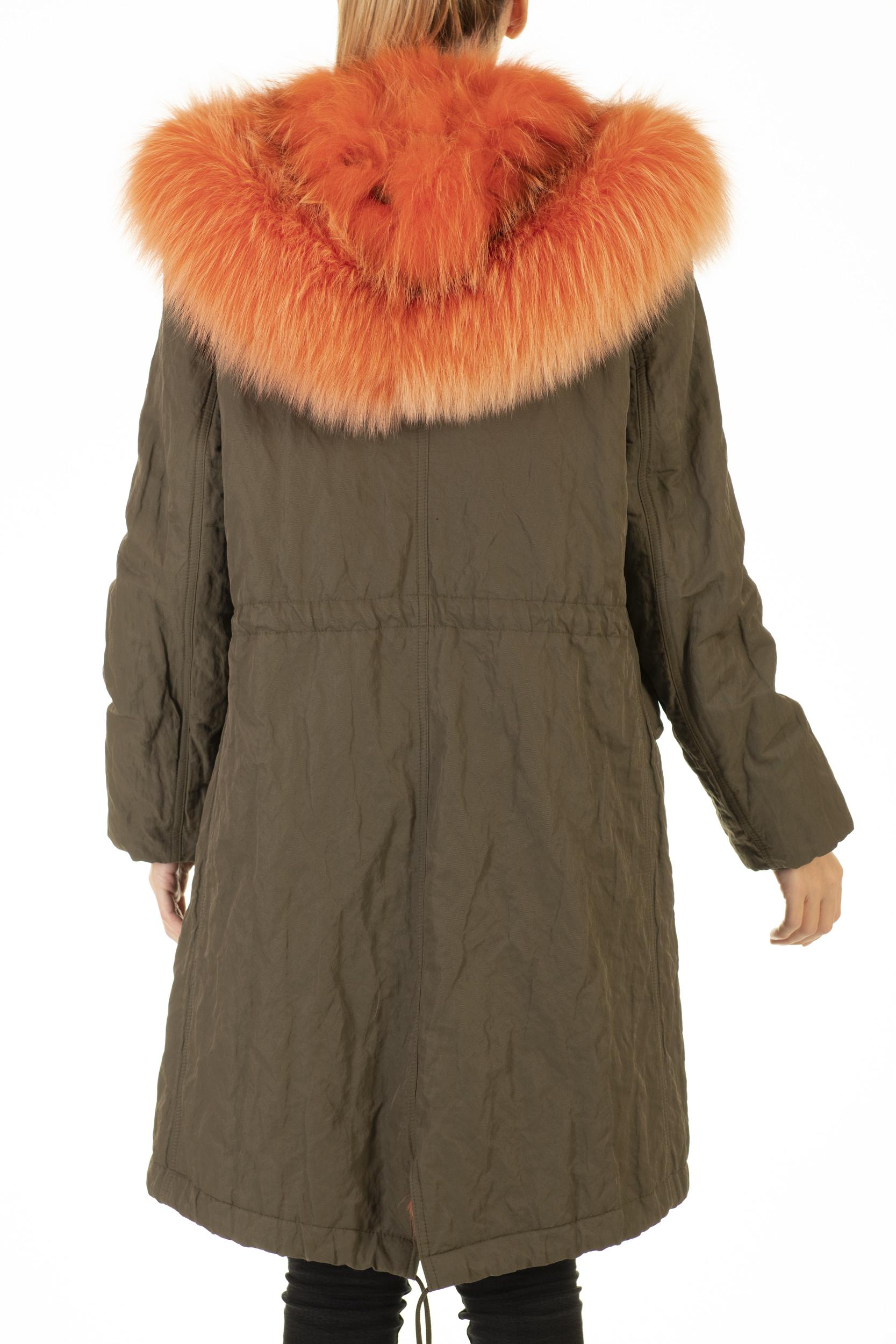 Parka Army Volpe Bright Orange