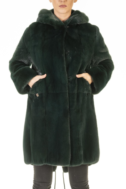 Cappotto Visone Pearl Green